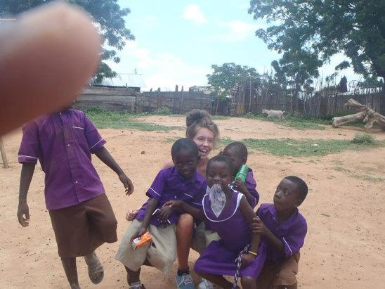 Volunteer abroad with children