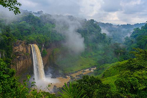 Cameroon 2 Ekom Falls