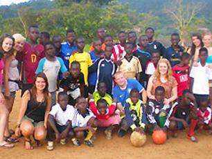 Donating-football-jerseys-to-Obo-ghana