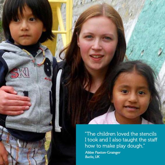 Volunteer under 18 abroad