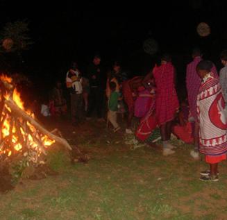 Ellin Evans Kenya Masai
