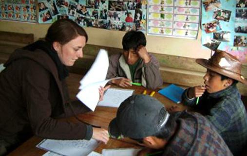 volunteer-Peru