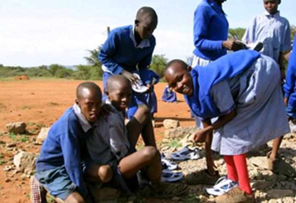 Volunteer in Kenya Masai