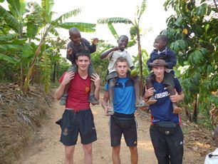 volunteers-give-children-ride-home-uganda