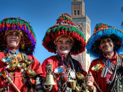 water-sellers-marrakesh-morocco